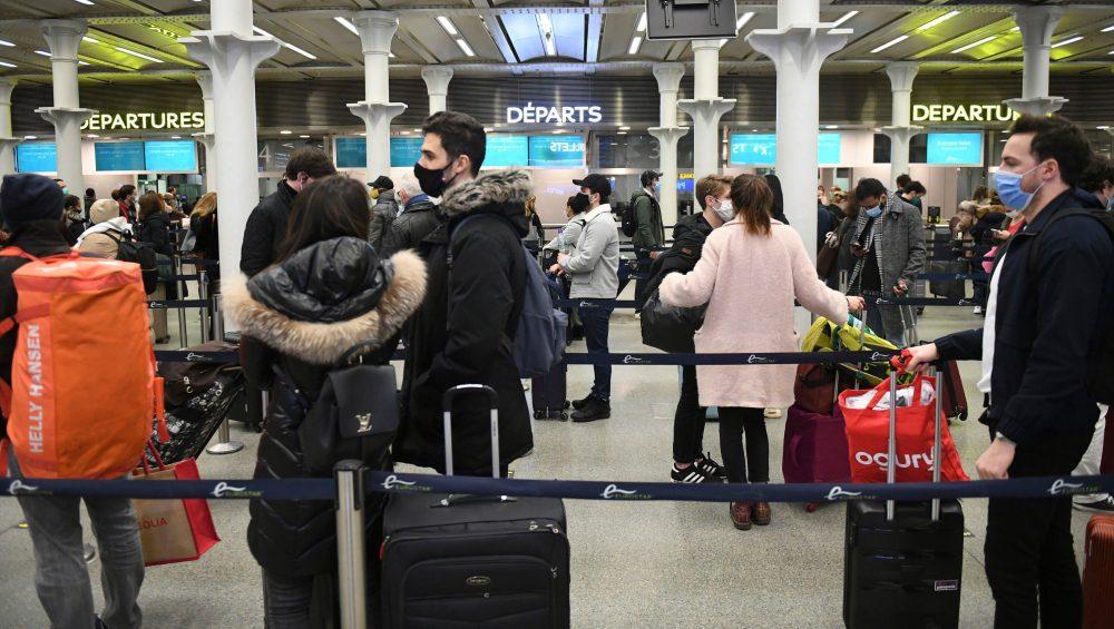 نوع جدید کرونا در لندن و لغو پروازها